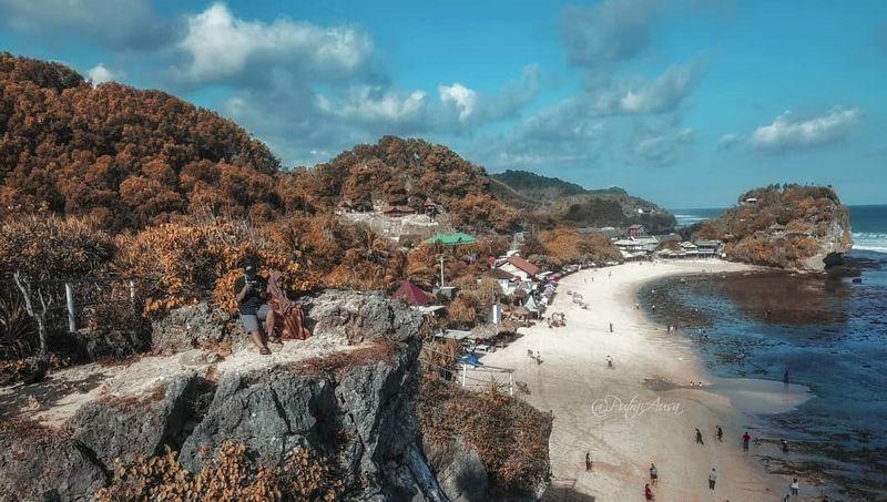 pantai indrayanti gunung kidul harus ditutup