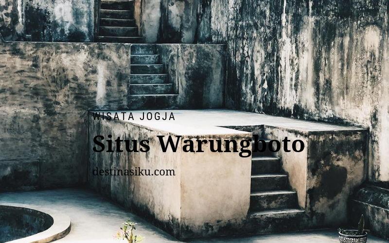 sejarah situs warungboto