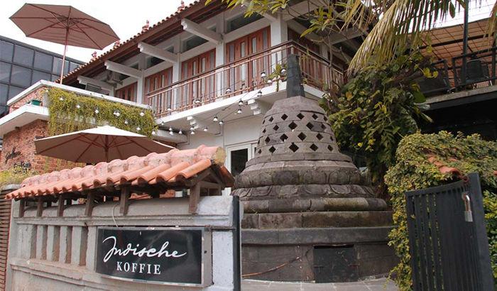 Indische Koffie Benteng Vredeburg Jogja