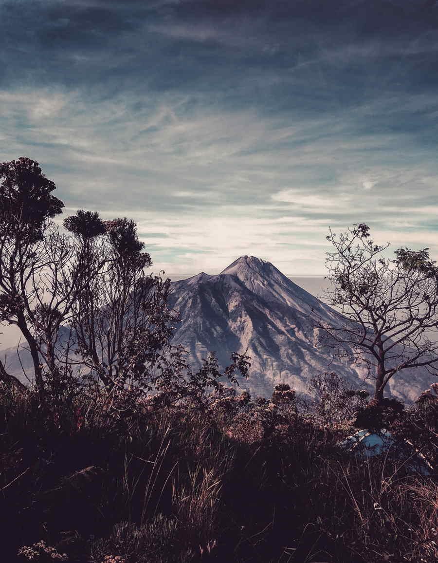 Lokasi Gunung Merapi