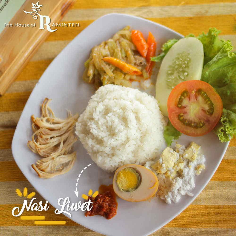 Makanan di Raminten House