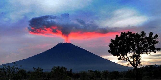 Gunung Agung Terkini