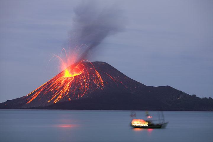 Gunung KrakatauSaat ini