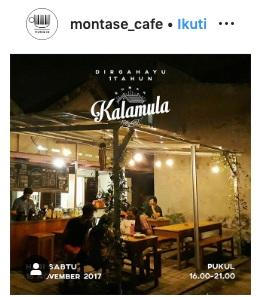 Montase Cafe Surabaya