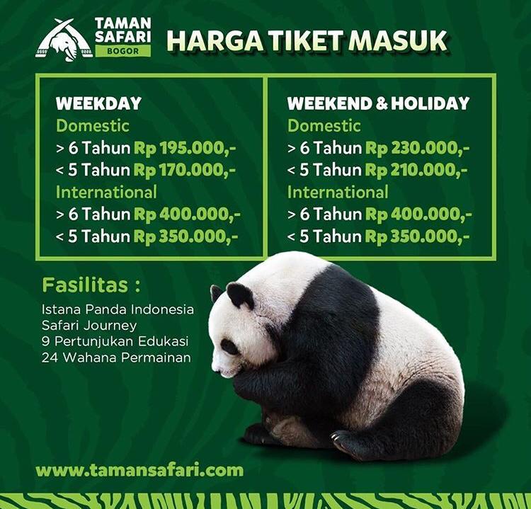 Promo tiket taman safari