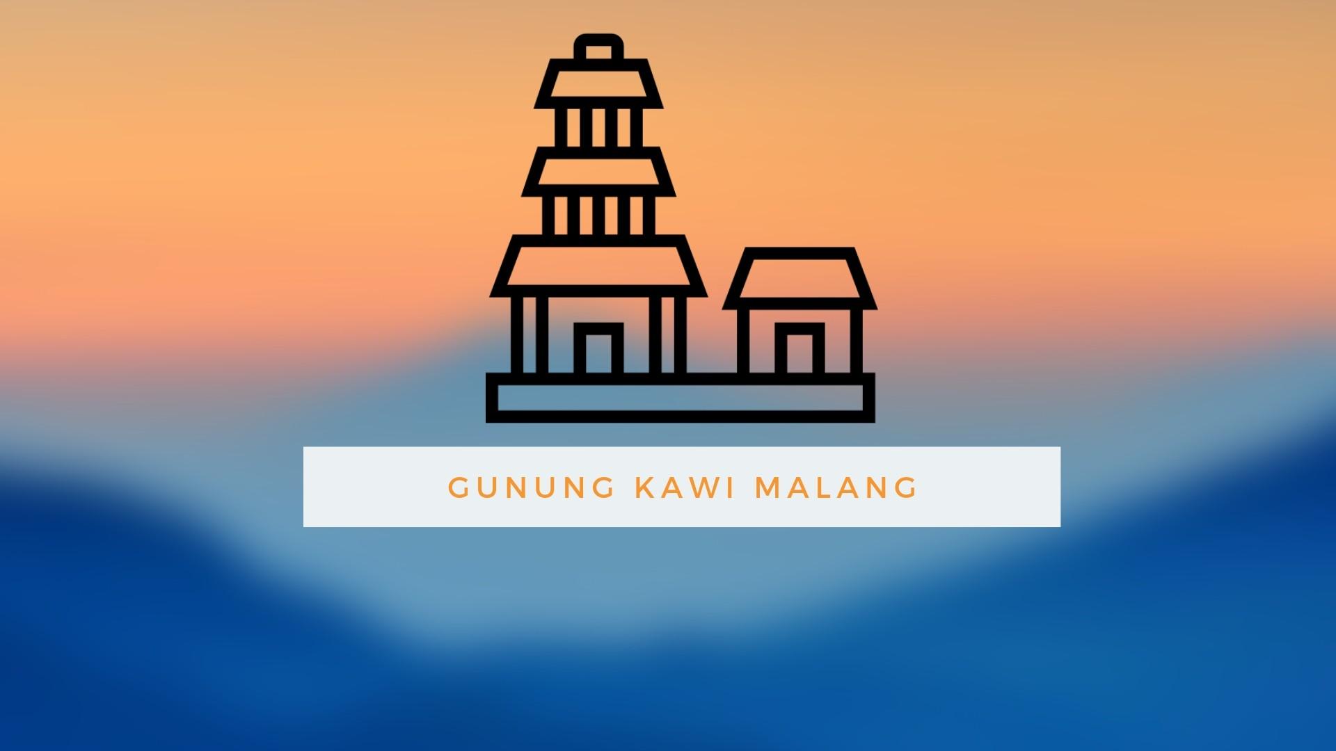 Rute Perjalanan Gunung Kawi
