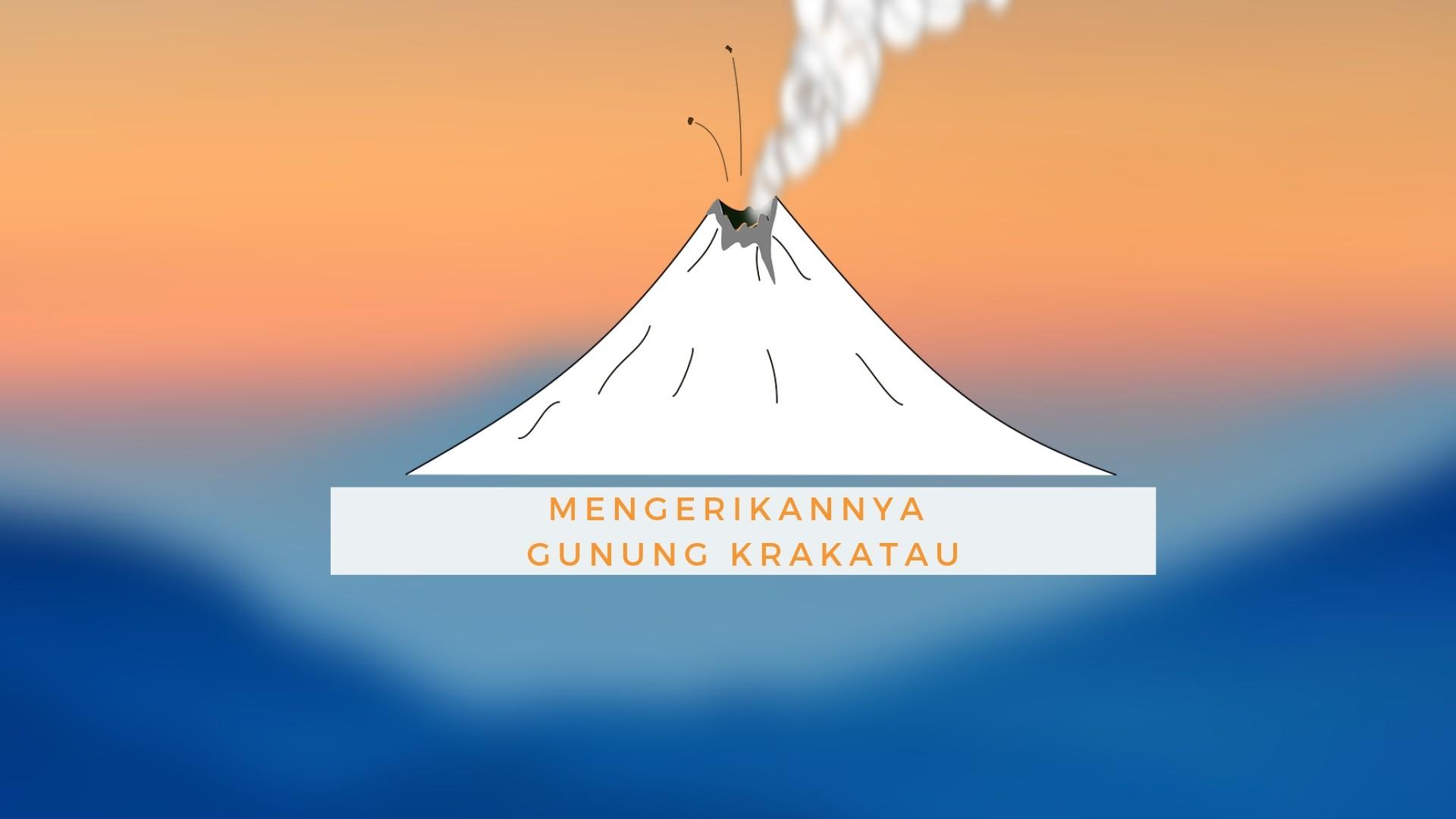Status Gunung Krakatau