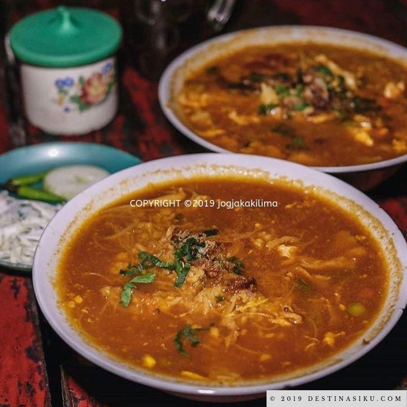 kuliner malam lesehan magelang magelang city central java