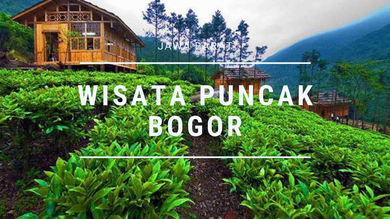 √ 9+ Wisata Paling Indah di Puncak Bogor & Sekitarnya