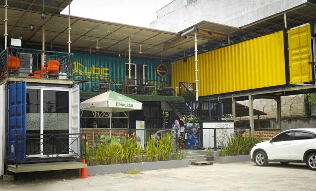 cubic cafe pekanbaru