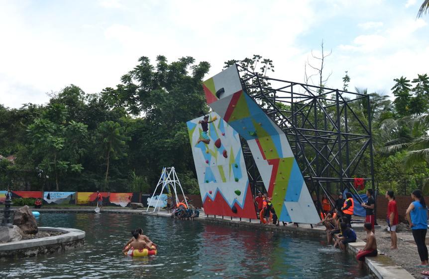 Psicobloc Owabong Waterpark