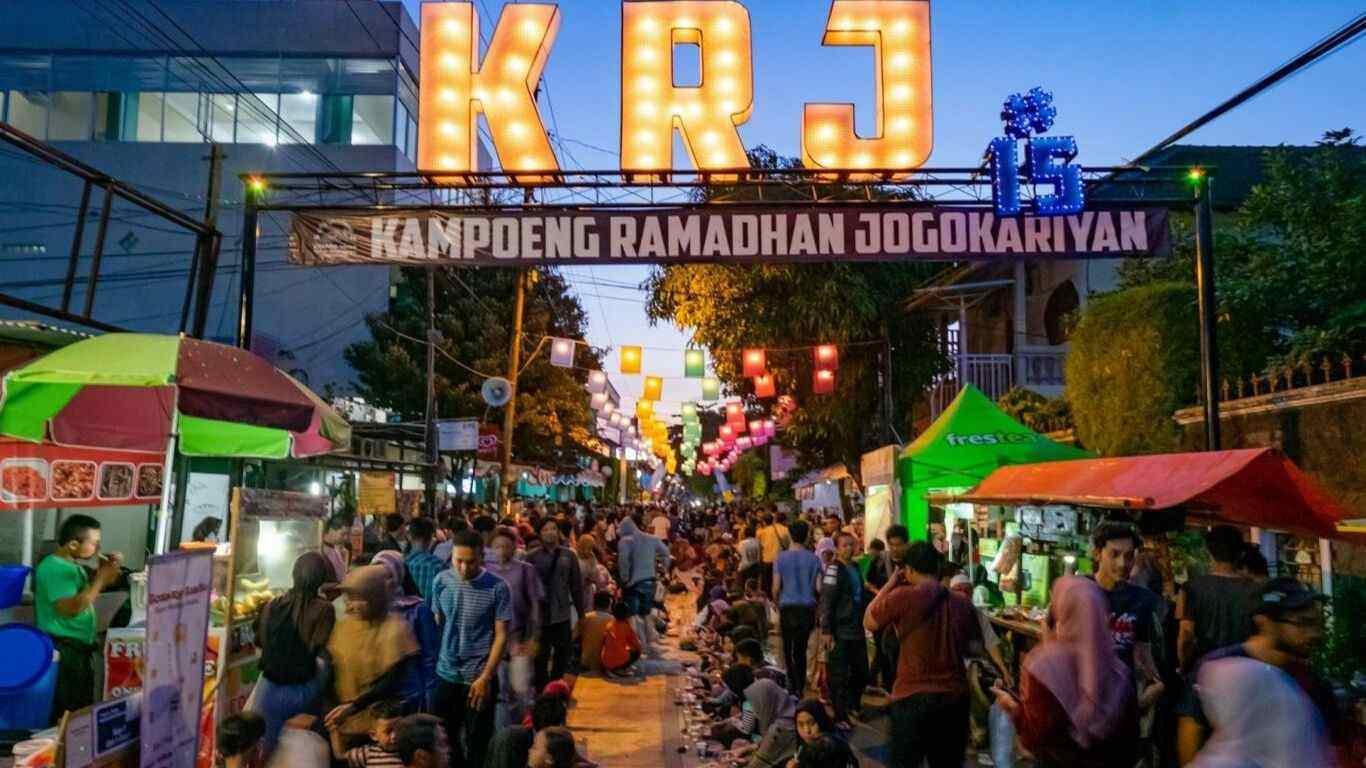 Foto Kampung Ramadhan Masjid Jogokariyan