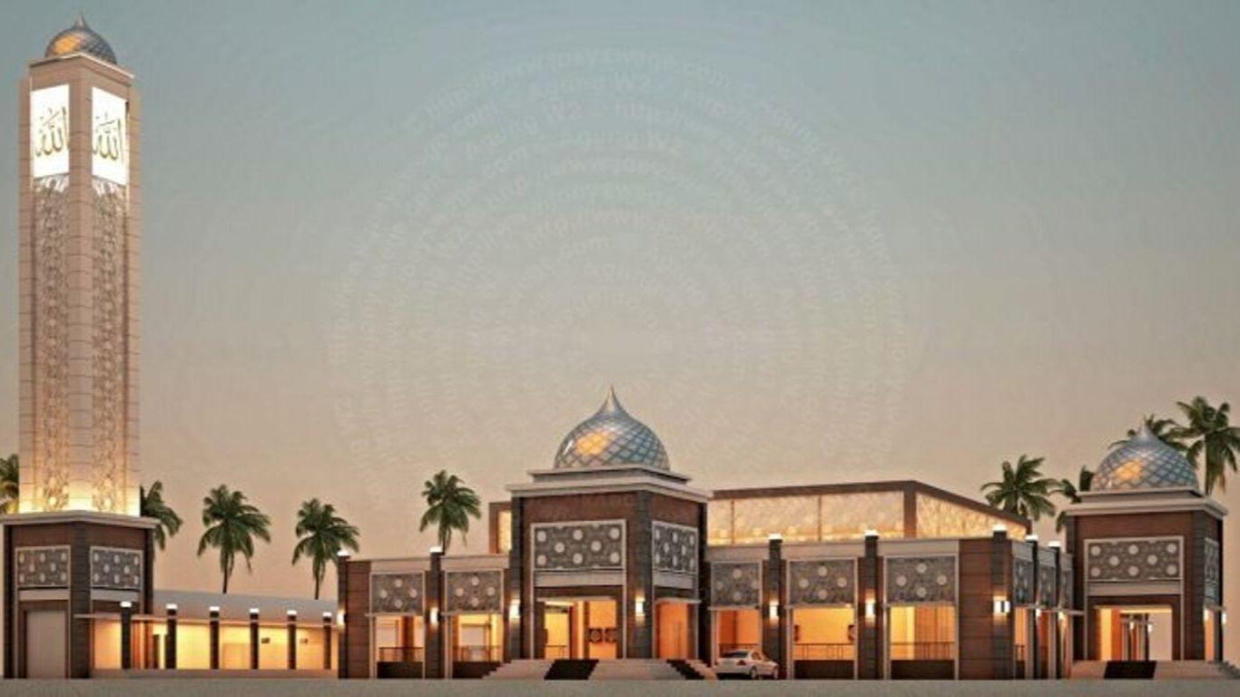 Foto masjid namira lamongan