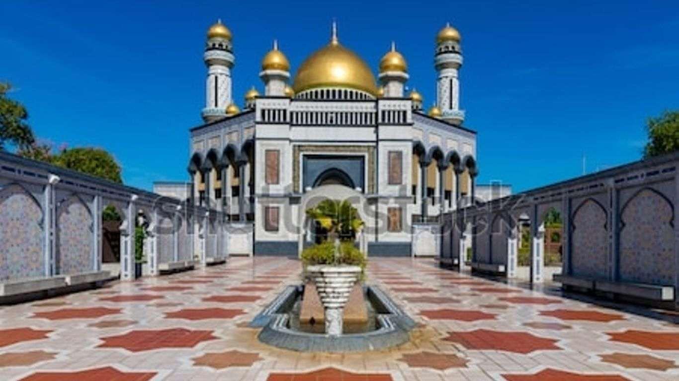 Gambar Masjid Kubah Mas