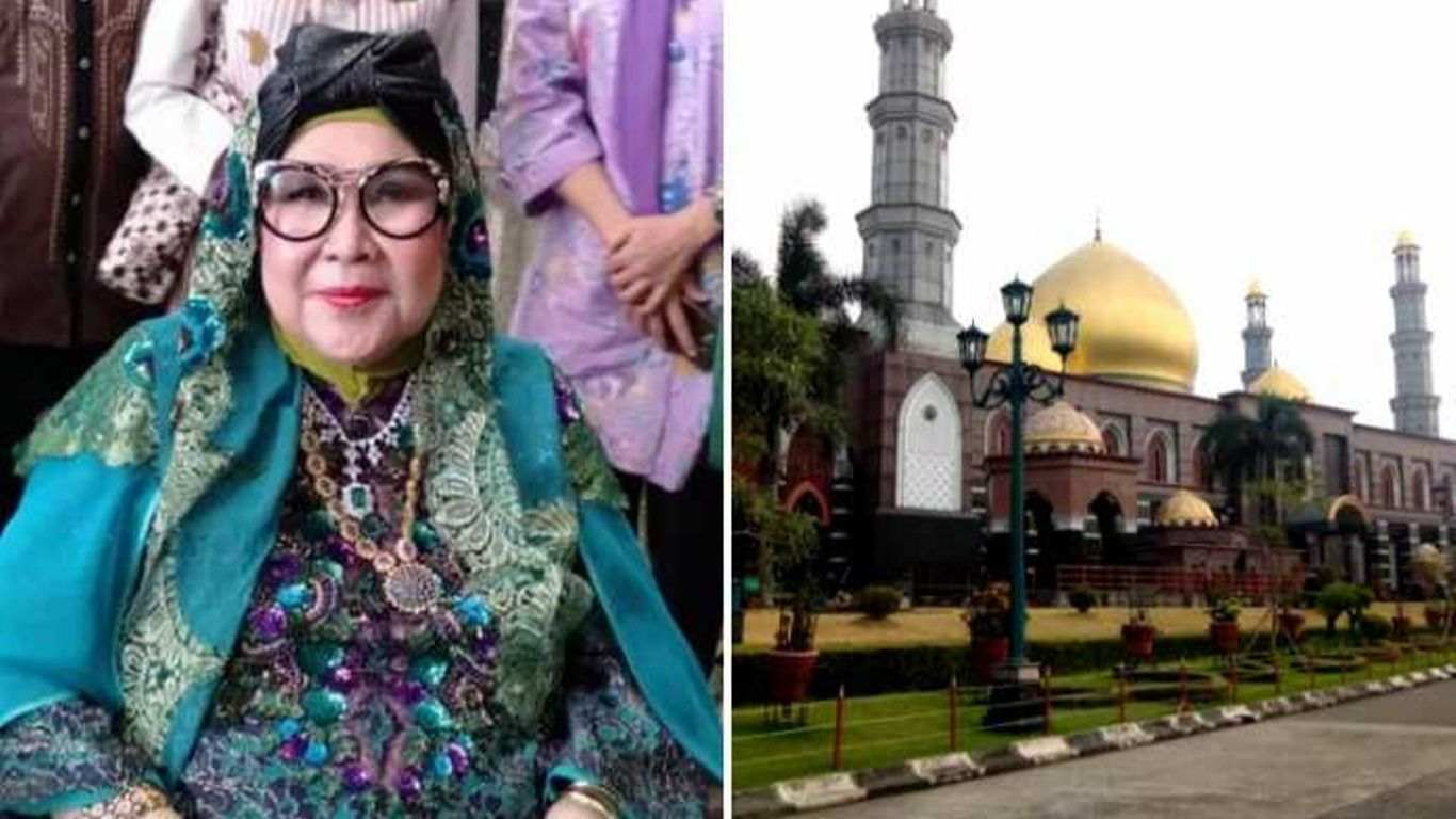 Mengenal Pendiri Masjid Dian Al Mahri