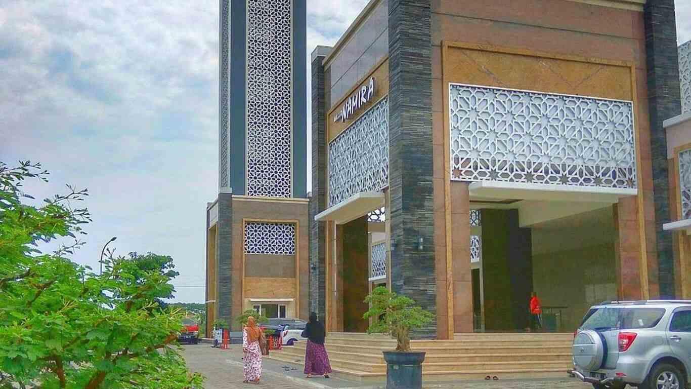 gambar masjid namirah lamongan