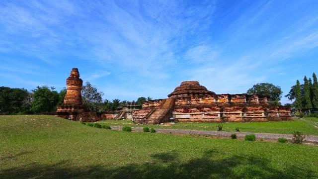 Lokasi Candi Muara Takus Sumatera