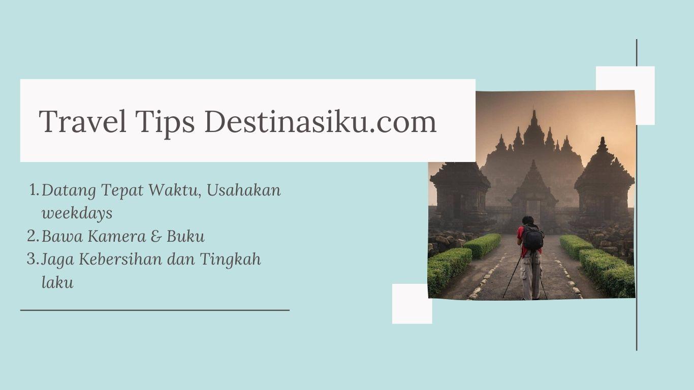Tips Wisata di Candi Plaosan
