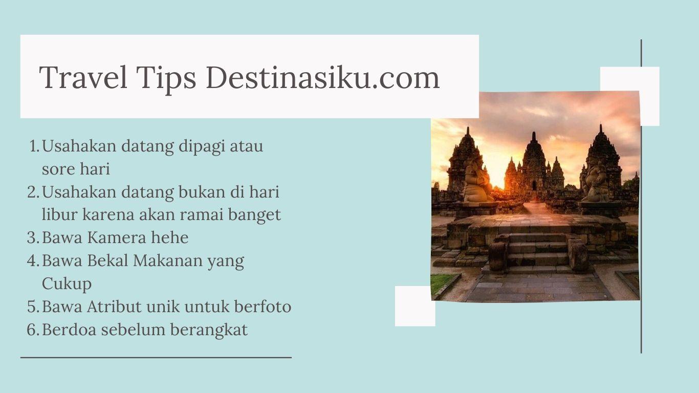 Tips Wisata di Candi Sewu Klaten
