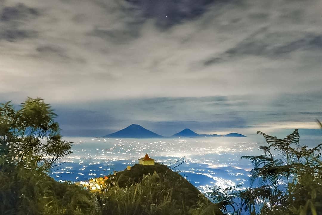 Lokasi Gunung Andong Magelang