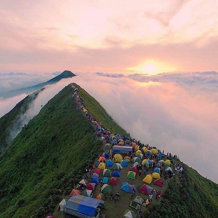 Rute Pendakian Gunung Andong 1726 Mdpl